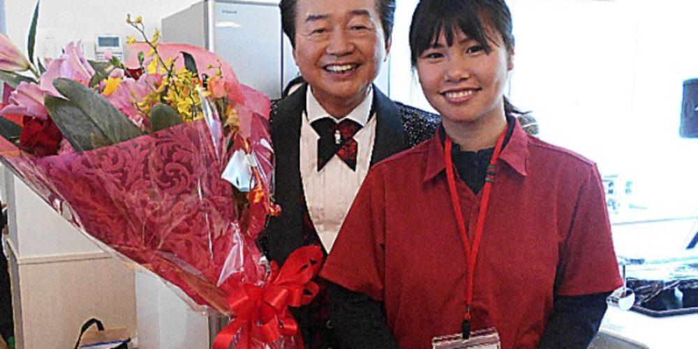 愛田幾也さんの特別出演で、日本の有名な演歌を約50分歌っていただきました。ありがとうございました。
